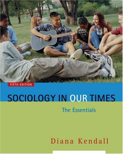 9780534646295: Sociology in Our Times: The Essentials (with InfoTrac)
