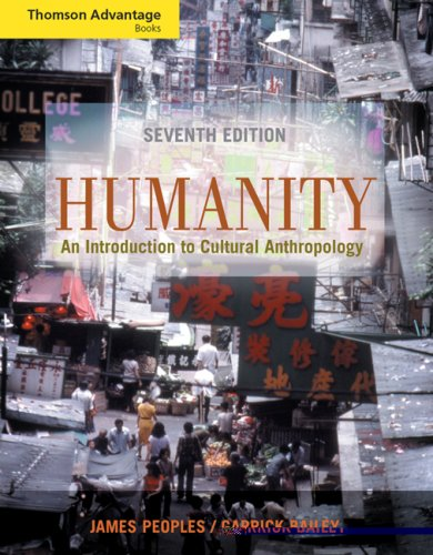 9780534646431: Thompson Advantage Books: Humanity: An Introduction to Cultural Anthropology (with InfoTrac®)