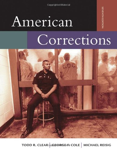 9780534646523: American Corrections (with InfoTrac )
