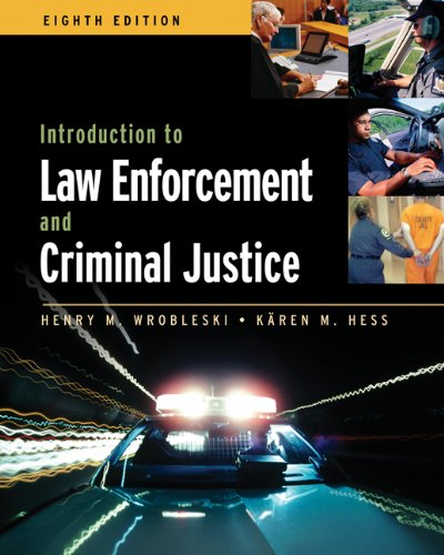 9780534646684: Introduction to Law Enforcement and Criminal Justice (Available Titles CengageNOW)