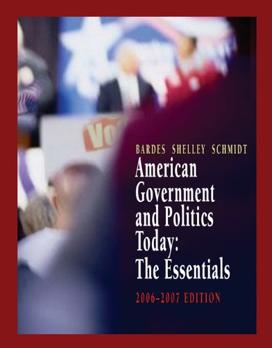 american politics today essentials 5th edition pdf