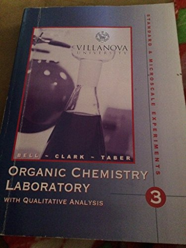 9780534647445: Organic Chemistry Laboratory with Qualitative Anal