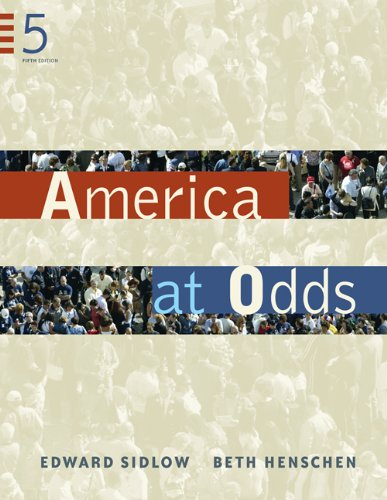 9780534647599: America at Odds (Available Titles CengageNOW)