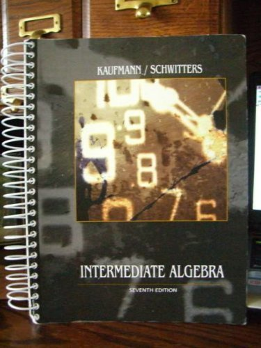 9780534653095: Intermediate Algrebra