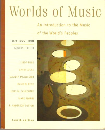 Worlds Of Music 4th Edition With Cds: Jeff Todd Titon