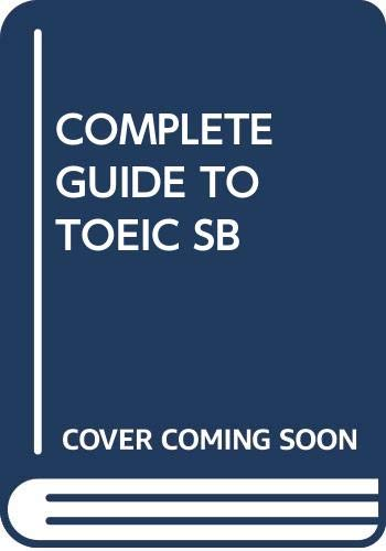 9780534835200: COMPLETE GUIDE TO TOEIC SB