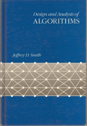 Design and analysis of algorithms first edition abebooks design and analysis of algorithms computer science smith jeffrey d fandeluxe Image collections