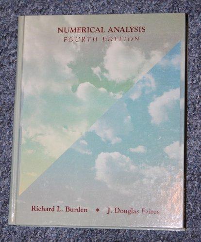 9780534915858: Numerical Analysis