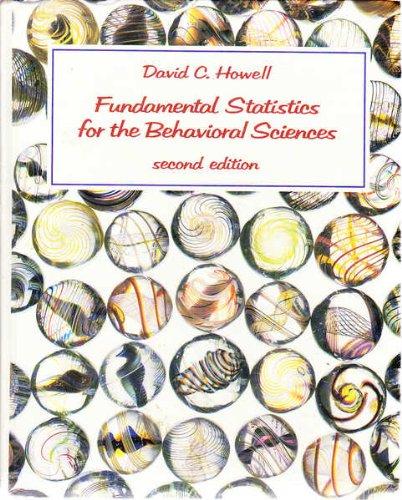 9780534916947: Fundamental statistics for the behavioral sciences