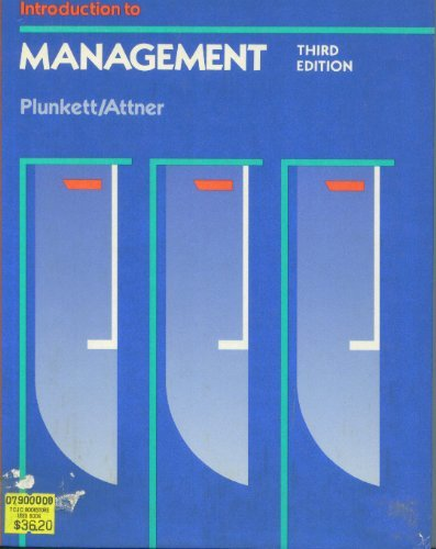 9780534917562: Introduction to Management