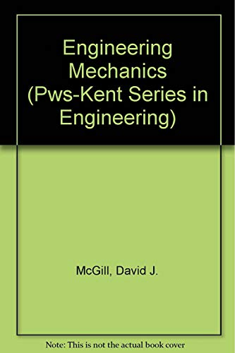 9780534917852: Engineering Mechanics: Statics (Pws-Kent Series in Engineering)