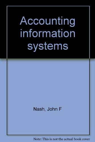 9780534917982: Accounting information systems
