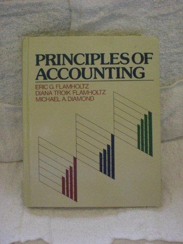 9780534918033: Principles of Accounting