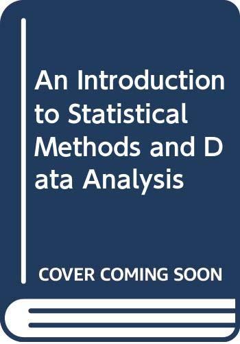 An Introduction to Statistical Methods and Data: Ott, Lyman