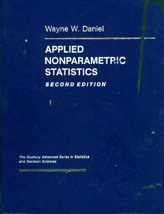 9780534919764: Applied Nonparametric Statistics (The Duxbury advanced series in statistics and decision sciences)