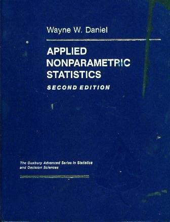 9780534919764: Applied Nonparametric Statistics