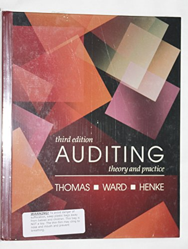 9780534920746: Auditing: Theory and Practice (Kent series in accounting)