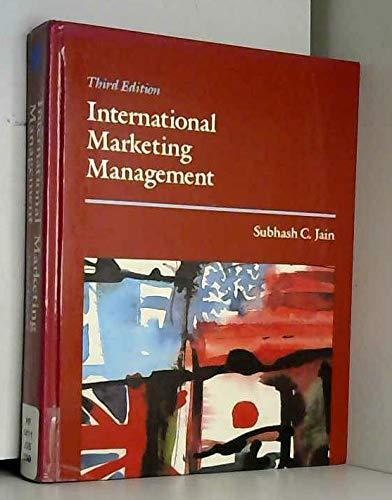 9780534921316: International Marketing Management