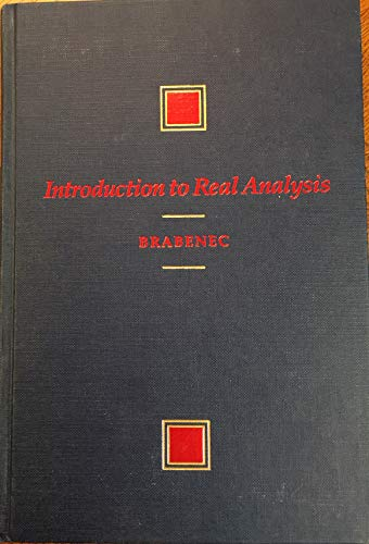 9780534921620: Introduction to Real Analysis (The Prindle, Weber & Schmidt series in mathematics)