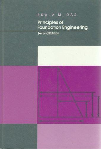 9780534921712: Principles of Foundation Engineering