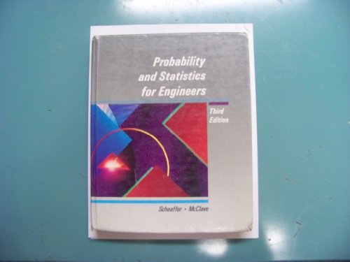 9780534921842: Probability and Statistics for Engineers