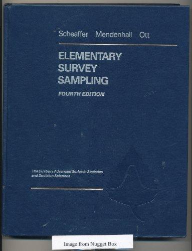 9780534921859: Elementary Survey Sampling (Statistics)