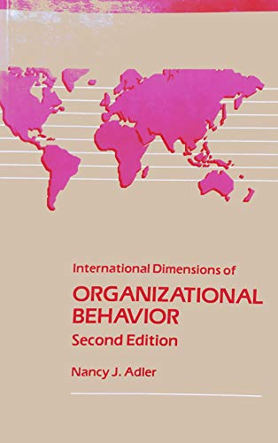 international dimensions of organizational behavior essay The influence of organisational culture versus national culture within the global group of companies author: table of contents: executive summary page 3.