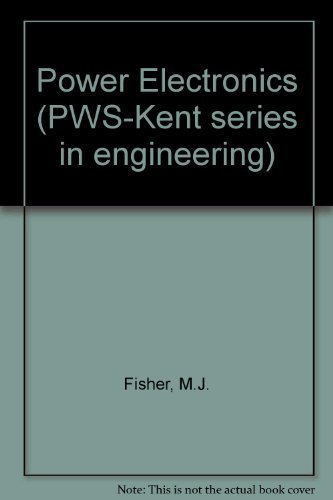 9780534923600: Power Electronics (Pws-Kent Series in Engineering)
