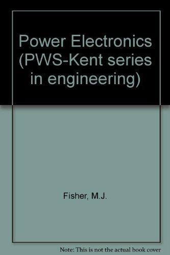 9780534923600: Power Electronics (Pws-Kent Series in Engineering)