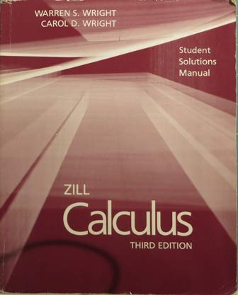 9780534927974: Calculus with Analytic Geometry: Students' Solutions Manual to 3r.e