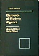 9780534928889: Elements of Modern Algebra (Prindle, Weber & Schmidt Series in Mathematics)
