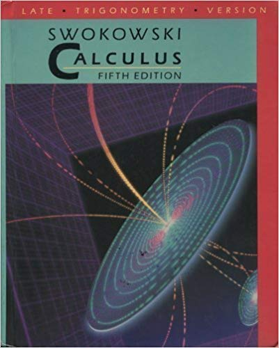 Calculus/Late Trigonometry Version (0534929370) by Swokowski, Earl William