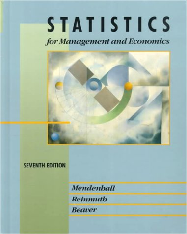 9780534932992: Statistics for Management and Economics (International Dimensions of Business Series)