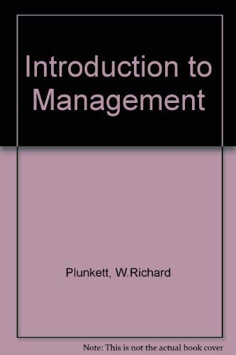 9780534933210: Introduction to Management