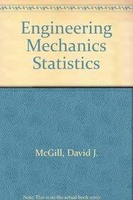 9780534933944: Engineering Mechanics Statistics by McGill, David J.; King, Wilton W.