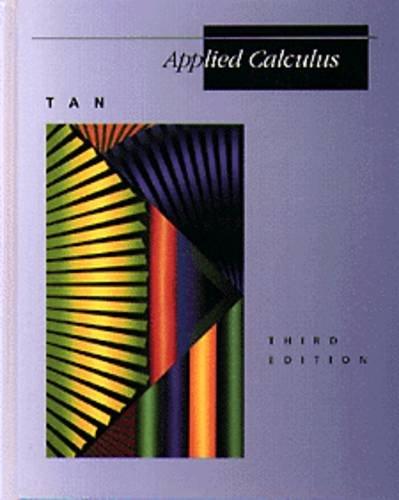 9780534935375: Applied Calculus (Mathematics)