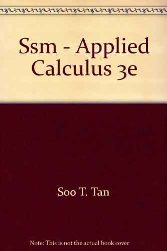 9780534935382: Applied Calculus
