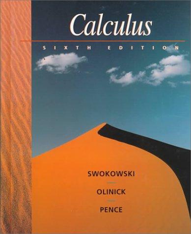 9780534936242: Calculus