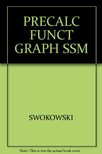 swokowski first edition abebooks rh abebooks com