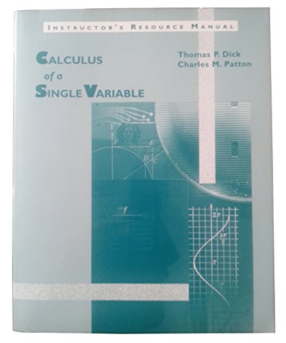 9780534939380: Calculus of a Single Variable