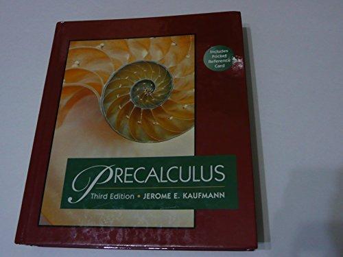9780534943622: Precalculus (Mathematics)
