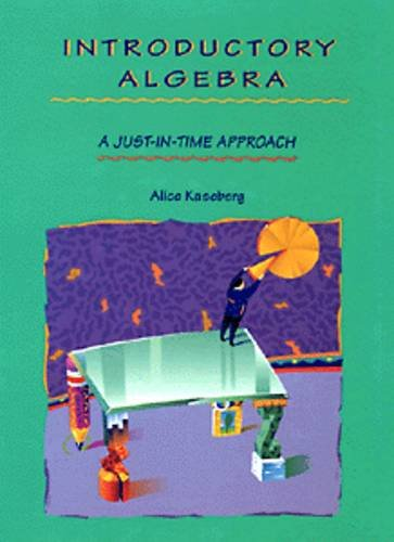 9780534943929: Introductory Algebra: A Just-In-Time Approach