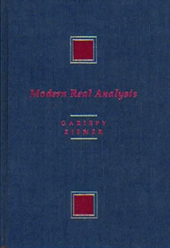 Modern Real Analysis: Gariepy, Ronald F,
