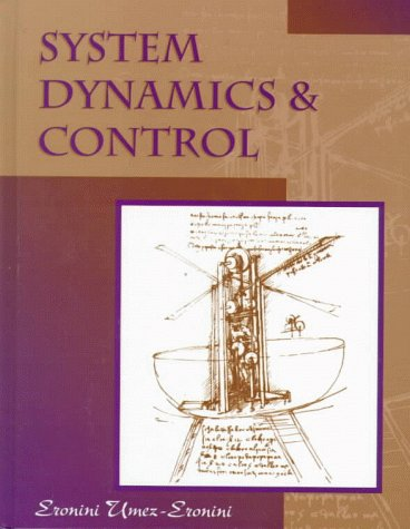 9780534944513: System Dynamics and Control