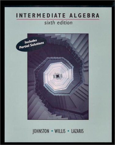 9780534944704: Intermediate Algebra