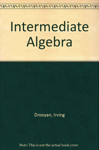 9780534946500: Intermediate Algebra (Mathematics)