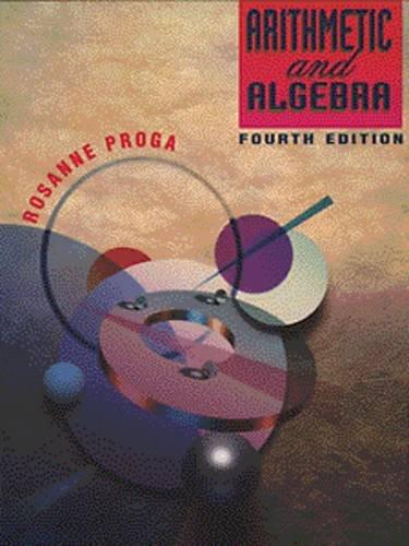9780534947583: Arithmetic and Algebra