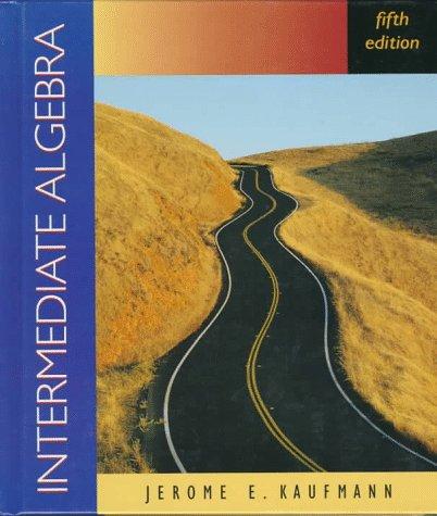 9780534948788: Intermediate Algebra