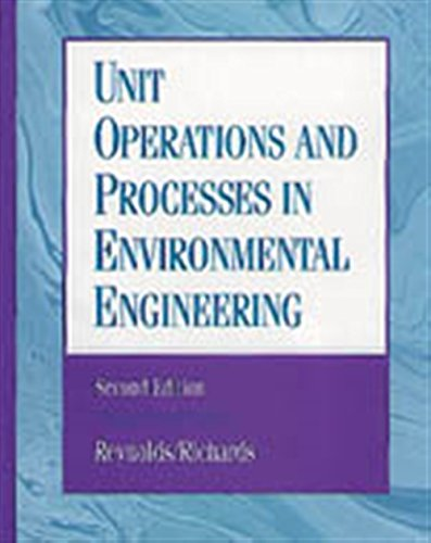 9780534948849: Unit Operations and Processes in Environmental Engineering, Second Edition