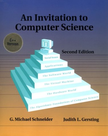 9780534951153 An Invitation To Computer Science 2nd Edition